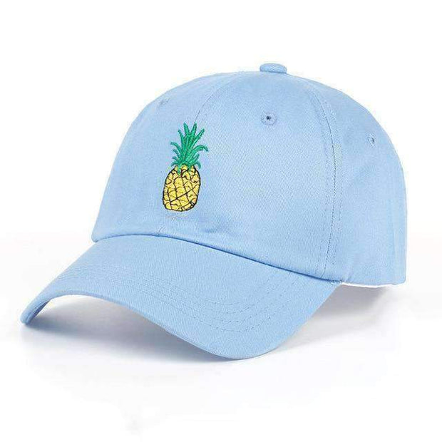 Ice Cold Lmnd hat Sky Blue Pineapple Dad Hat ice cold lmnd streetwear