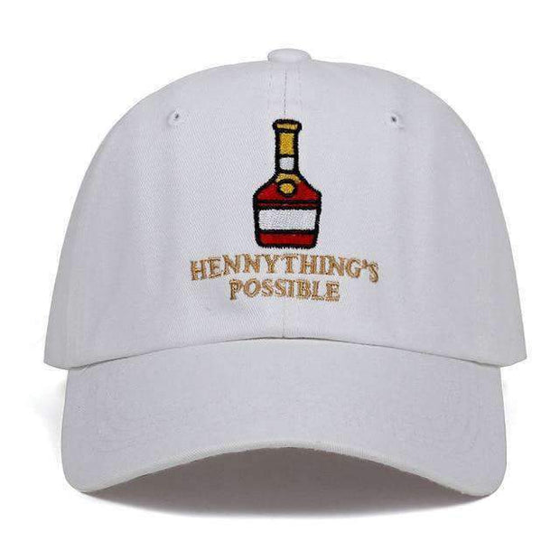 Ice Cold Lmnd hat White Hennything's Possible Dad Hat ice cold lmnd streetwear