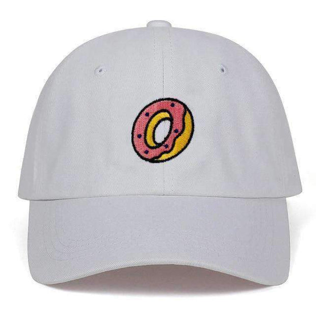 Ice Cold Lmnd hat White mmmm Doughnuts Dad Hat ice cold lmnd streetwear
