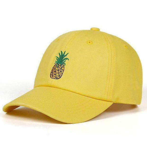 Ice Cold Lmnd hat Yellow Pineapple Dad Hat ice cold lmnd streetwear