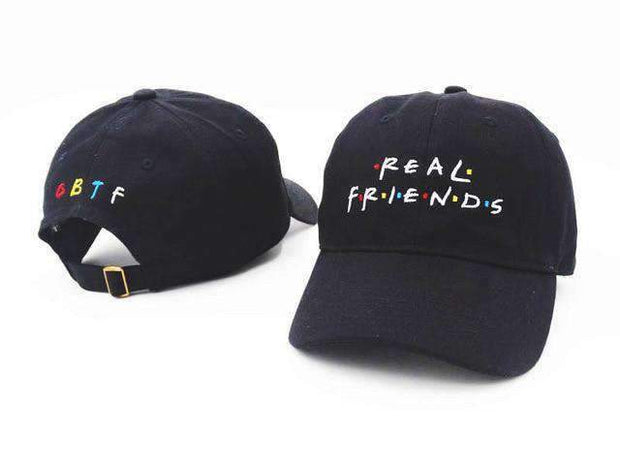 Freshly Squeezed Hats Black Real Friends Dad Hat ice cold lmnd streetwear