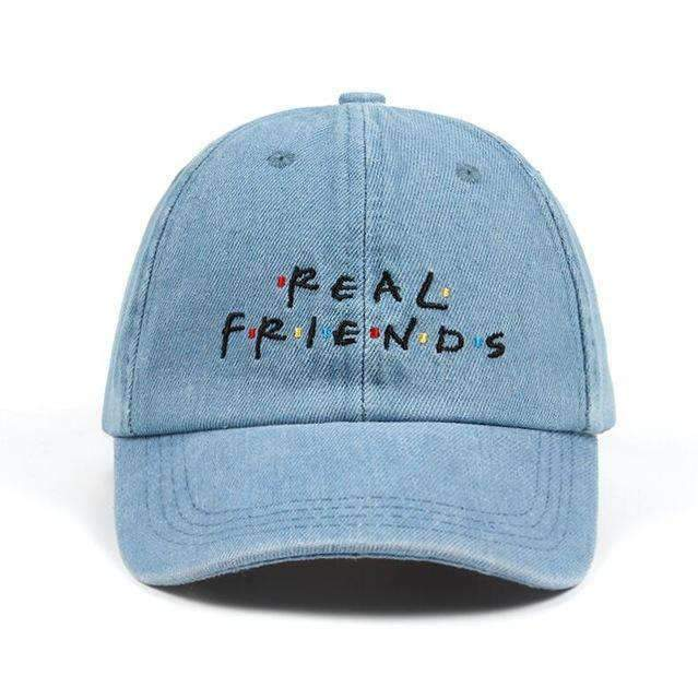 Real Friends Dad Hat - Ice Cold Lmnd Real Friends Dad Hat