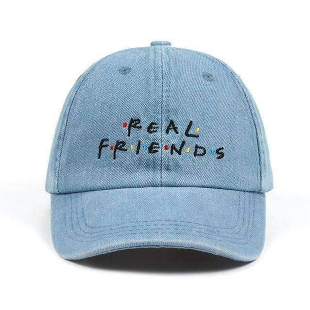 Freshly Squeezed Hats Blue Real Friends Dad Hat ice cold lmnd streetwear