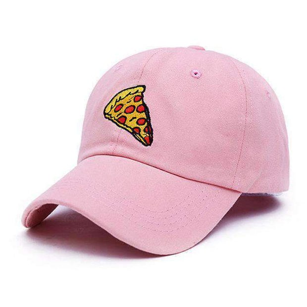 icecoldlmnd Hats Pink Pizza Slice Strapback Dad Hat ice cold lmnd streetwear