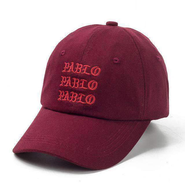icecoldlmnd Hats wine red Pablo Strapback Dad Hat ice cold lmnd streetwear