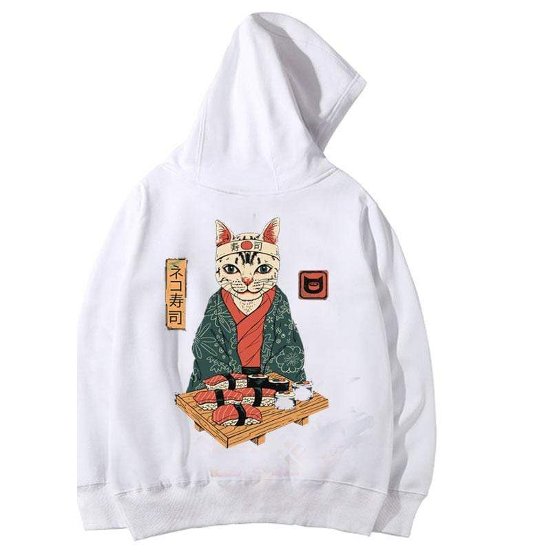 Sushi Cat Hoodie - Ice Cold Lmnd Sushi Cat Hoodie