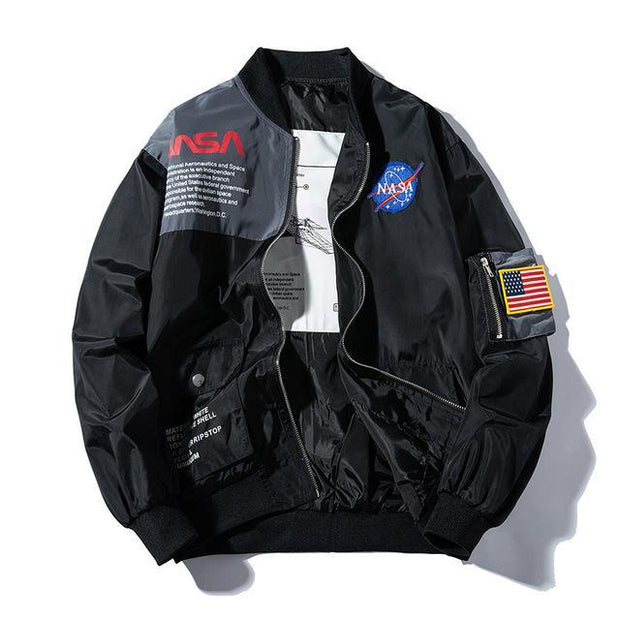 NASA Bomber Lightweight Jacket II - Ice Cold Lmnd NASA Bomber Lightweight Jacket II
