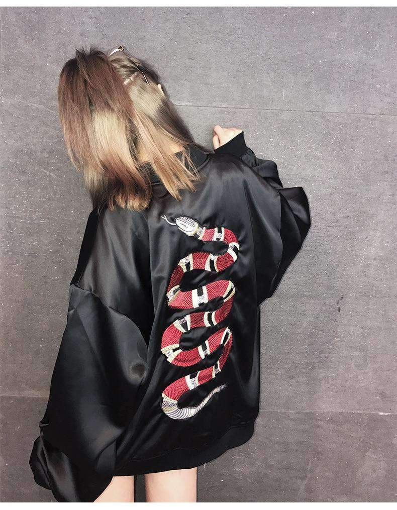 """Snake On My Back"" Lightweight Jacket - Ice Cold Lmnd ""Snake On My Back"" Lightweight Jacket"