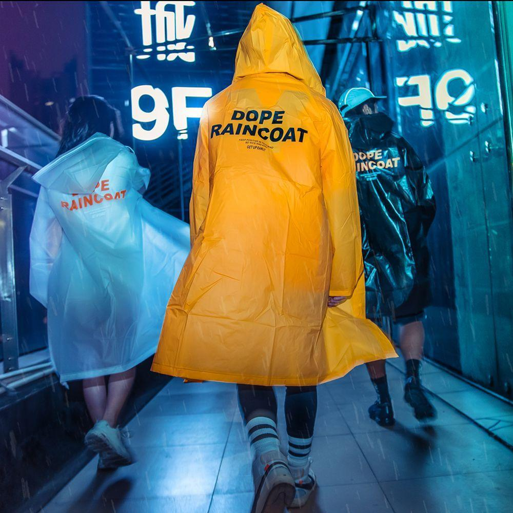 """Dope Raincoat"" Raincoat - Ice Cold Lmnd ""Dope Raincoat"" Raincoat"