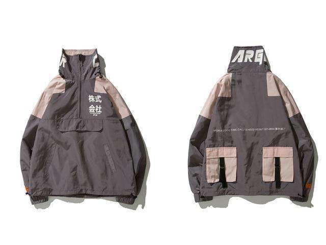 """Superior Show"" Windbreaker - Ice Cold Lmnd ""Superior Show"" Windbreaker"