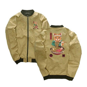 Ramen Cat Jacket - Ice Cold Lmnd Ramen Cat Jacket
