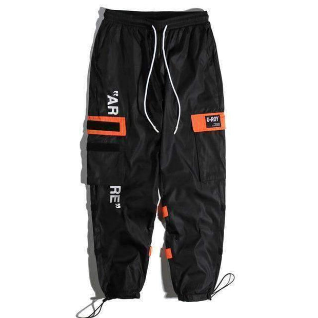 Ice Cold Lmnd pants Black / XS Side Pockets Cargo Pants ice cold lmnd streetwear