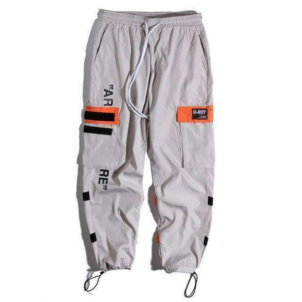Ice Cold Lmnd pants Gray / XS Side Pockets Cargo Pants ice cold lmnd streetwear