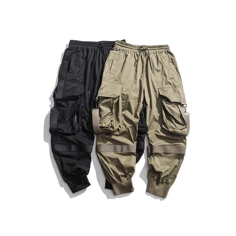 Hip Hop Cargo Pants - Ice Cold Lmnd Hip Hop Cargo Pants