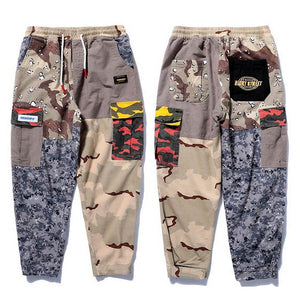 Dragon Print Cargo Pants - Ice Cold Lmnd Dragon Print Cargo Pants