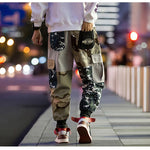Harley Patch Camouflage Cargo Pants - Ice Cold Lmnd Harley Patch Camouflage Cargo Pants