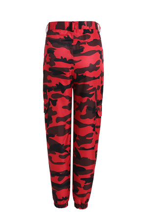Military Camo Women's Pants - Ice Cold Lmnd Military Camo Women's Pants