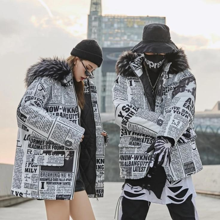 """Fresh Off The Press"" Winter Coat - Ice Cold Lmnd ""Fresh Off The Press"" Winter Coat"