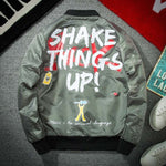 Shake Things Up! Bomber Jacket - Ice Cold Lmnd Shake Things Up! Bomber Jacket