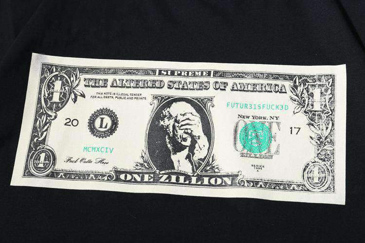"""One Zillion"" Dollar T-Shirt - Ice Cold Lmnd ""One Zillion"" Dollar T-Shirt"