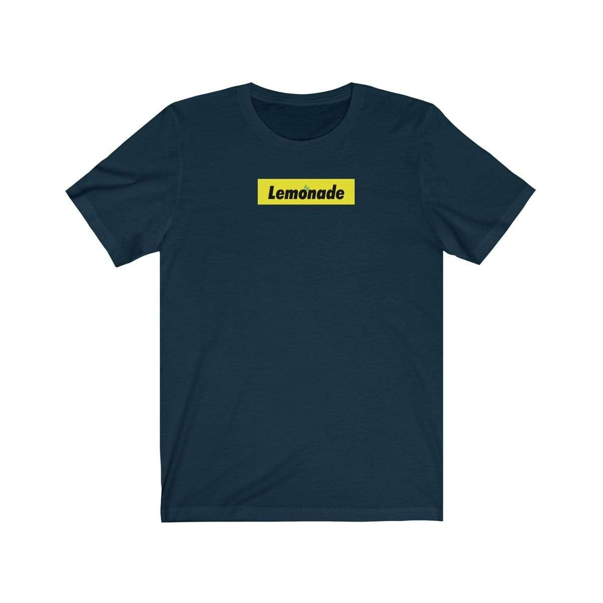 Lemonade Yellow Box Tee - Ice Cold Lmnd Lemonade Yellow Box Tee
