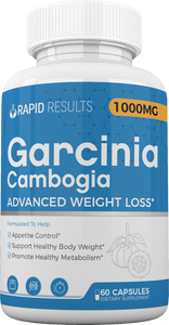 Rapid Results Garcinia Get 2 Free Bottles - 60 Count