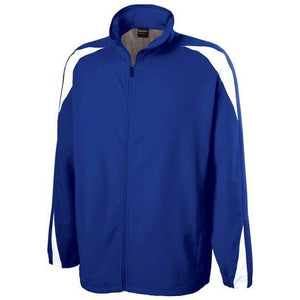 Nylon Warm-up Full Zip Jacket 60 Count