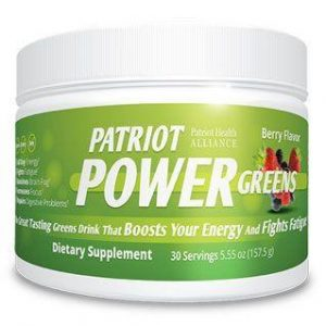Patriot Power Greens - 60 Count