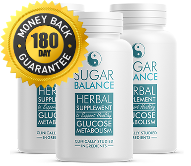 Sugar Balance Supplement - 180 Day MoneyBack Guarantee - 60 Count