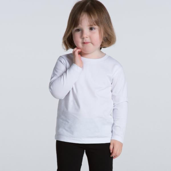 Kids Long Sleeve Tee (AS Colour)