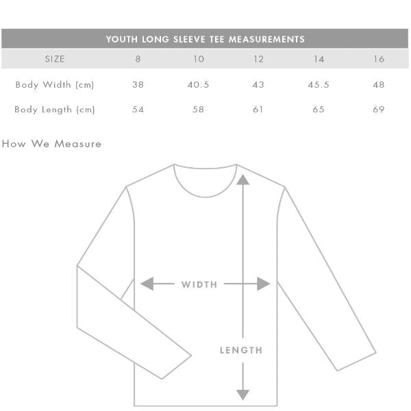 Youth Long Sleeve Tee (AS Colour)
