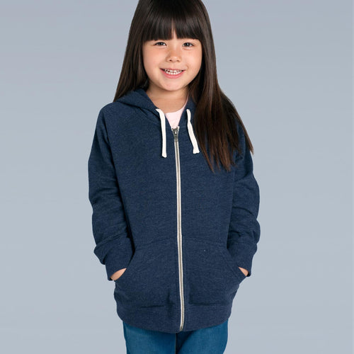Kids Zip Hood (AS Colour)