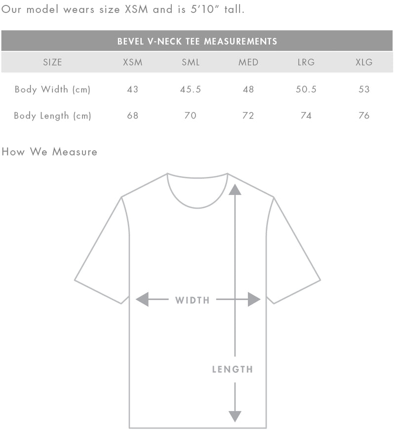 Women's Bevel V-Neck Tee (AS Colour)