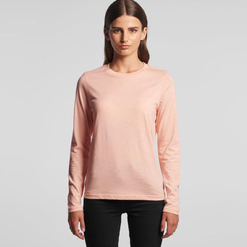 Womens Chelsea Long Sleeve Tee (AS Colour)