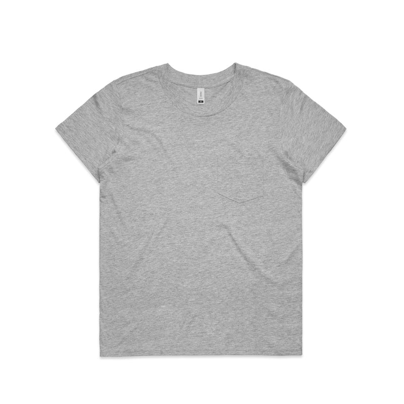 Women's Square Pocket Tee (AS Colour)