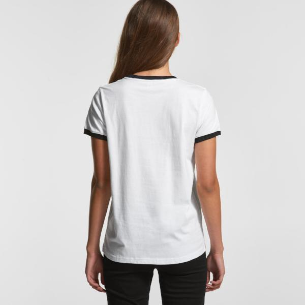 Women's Ringer Tee (AS Colour)