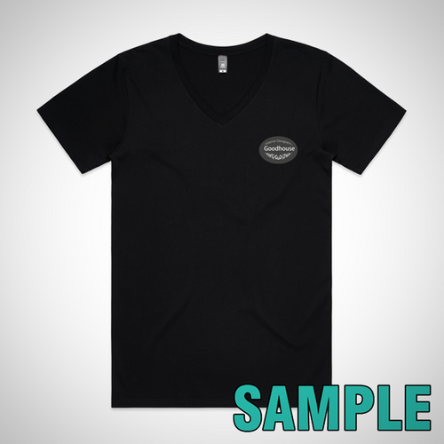 Mens Tarmac V-Neck Tee (AS Colour)