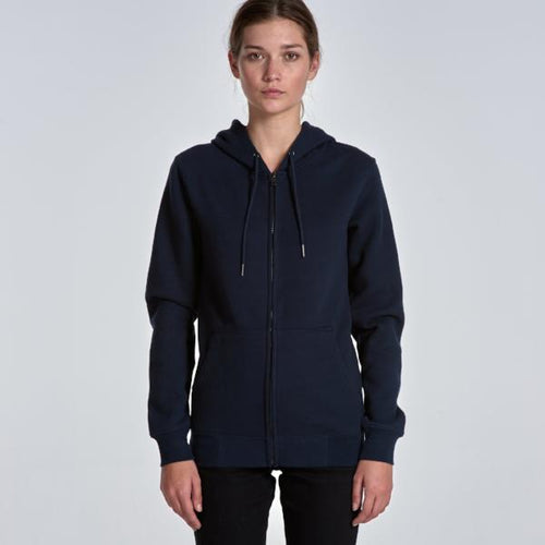 Women's Index Zip Hood (AS Colour)