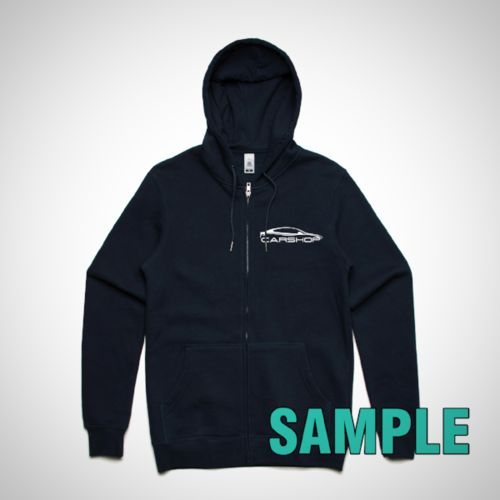 Mens Index Zip Hood (AS Colour)