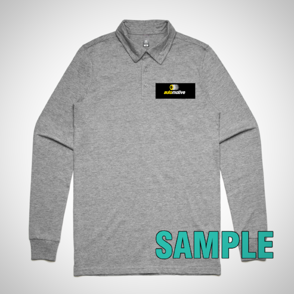 Mens Chad Long Sleeve Polo (AS Colour)
