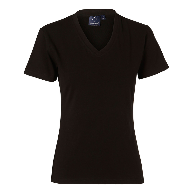 Stretch Short Sleeve Tee Ladies' (Winning Spirit)