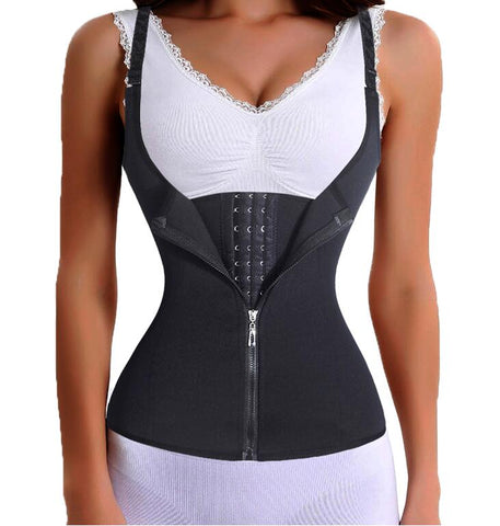 Bodysuit Women Slimming Zipper Waist - Milventure
