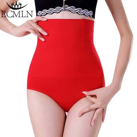 Women High Tummy Control Panties Waist Body Shaper Seamless Belly Waist Slimming Pants Shapewear DropShipping