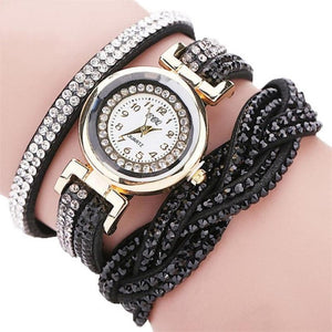 Stunning Studded Crystal Watch
