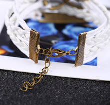 Dream Charm Leather Bracelet