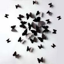 12 Pc Butterfly Wall Stickers