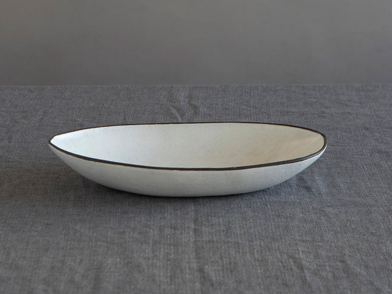 Cotton Oval Serving Bowl