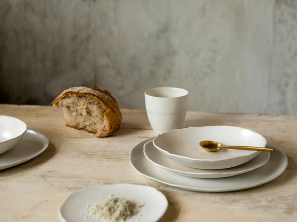 Cotton Dinnerware Set for two