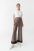Sateen Trousers With Elastic Waist