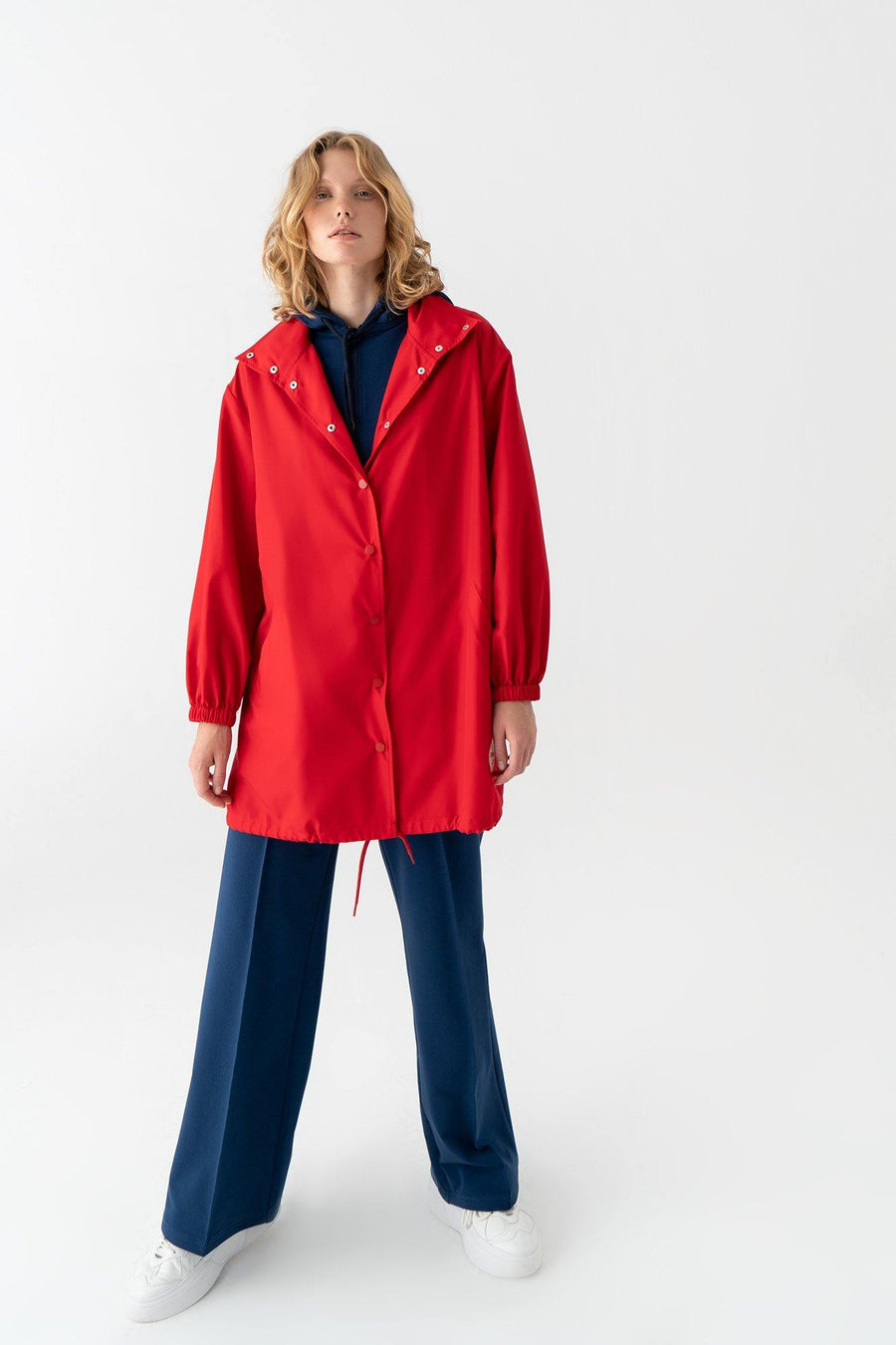 Preppy Cool Raincoat